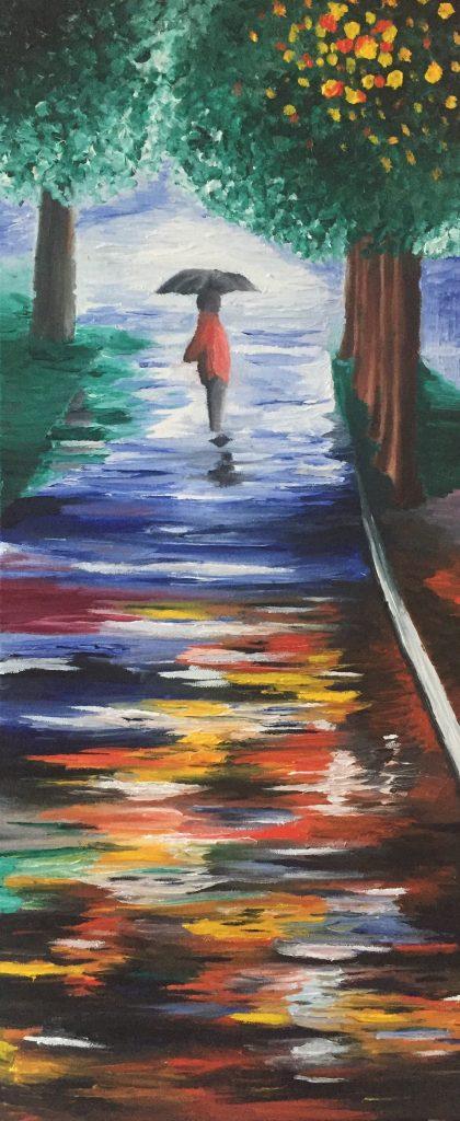 A walk alone